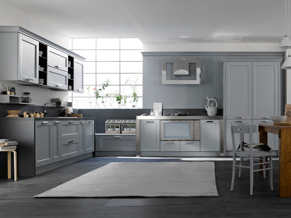 Molto Stunning Cucina Moderna Grigia Images - Ideas & Design 2017  ZS27